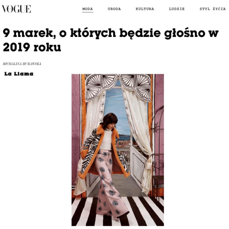 Vogue Poland -