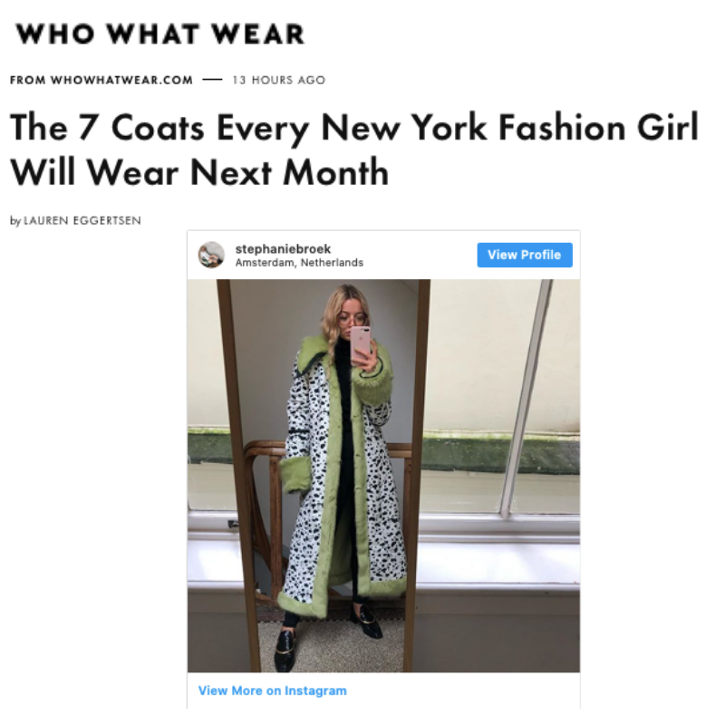 Who What Wear -