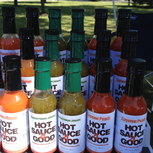 Hot Sauce 4 Good at the Jamesburg Farmer's Market