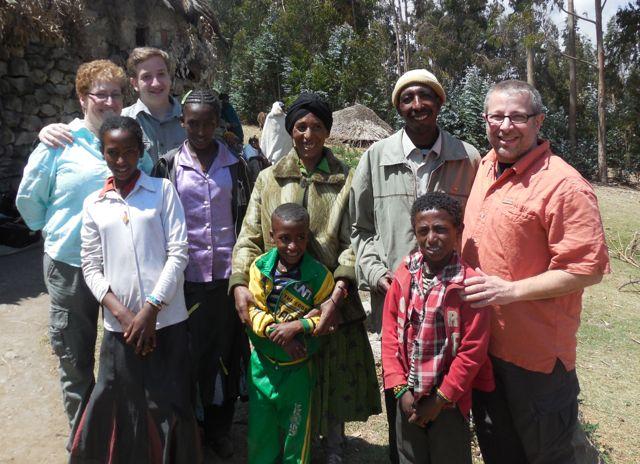 Neguse's Family (and mine)