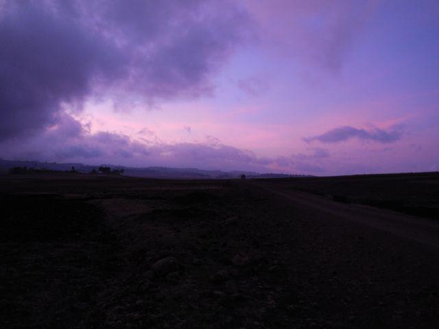 Sunrise over Angolola ADP
