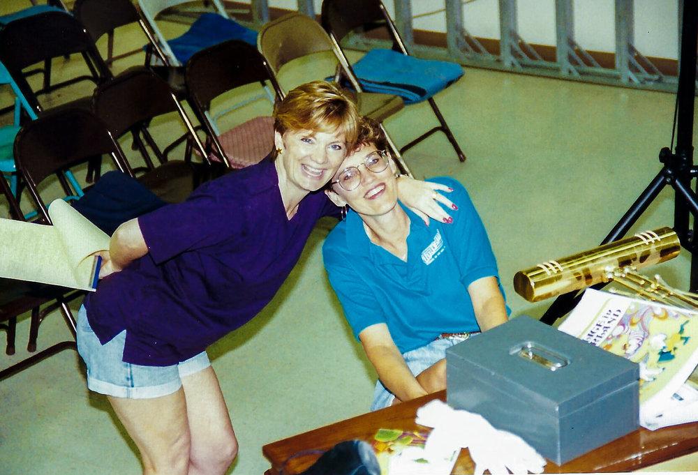 Founders of Do Re Mi - Polly Chapman (left) & Kay Randolph (right)