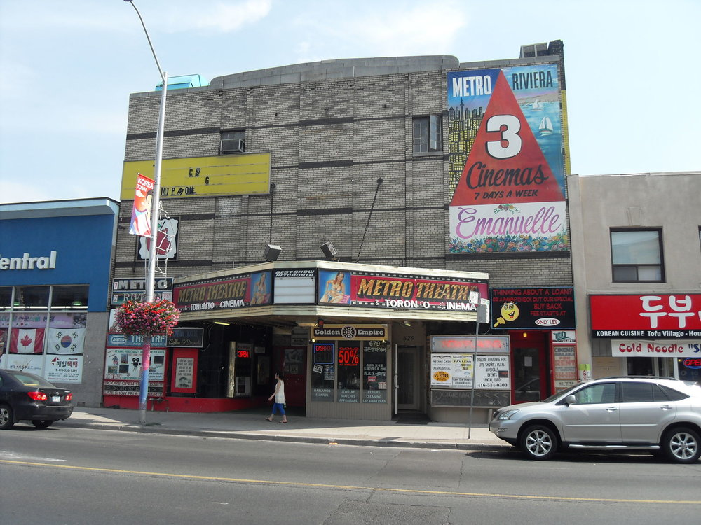 The Metro Theatre, 5 years before Basecamp Climbing took over.
