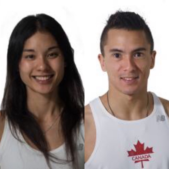 Alannah Yip and Sean McColl earn the #1 spot in the PW Canadian Boulder Rankings for the 2018 season. Photos courtesy of the IFSC.