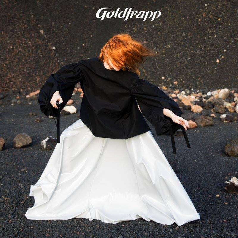 White PVC skirt