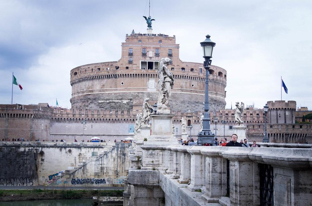 Castel Sant'Angelo 圣天使城堡
