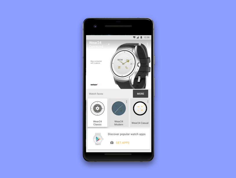 Verizon | Wear24 - Verizon's first exclusive smartwatch and companion app.iOS | Android | Android Wearable