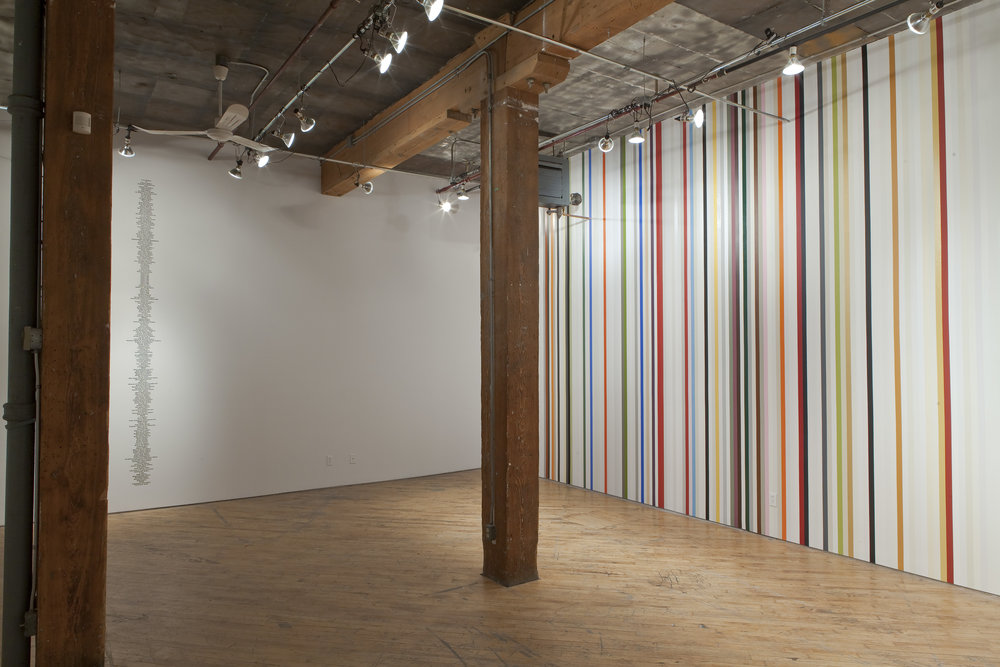 Dax Morrison, The Willing and the Able at YYZ Artists' Outlet, Installation View. Photographed by Toni Hafkenscheid.