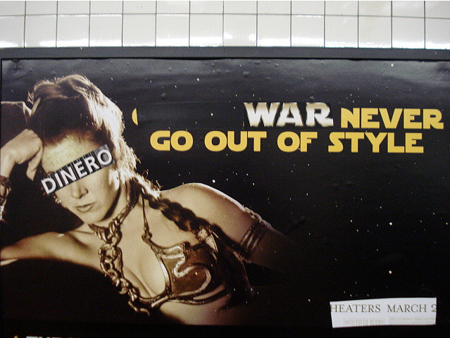 Poster Boy, War is the New Black