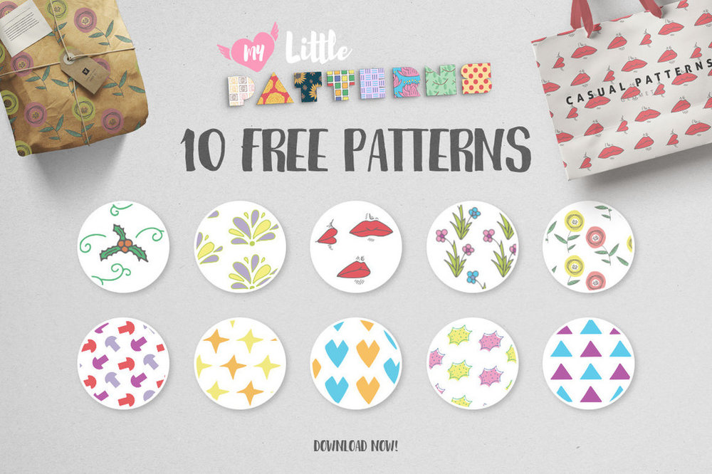Freebie | Textures, Patterns