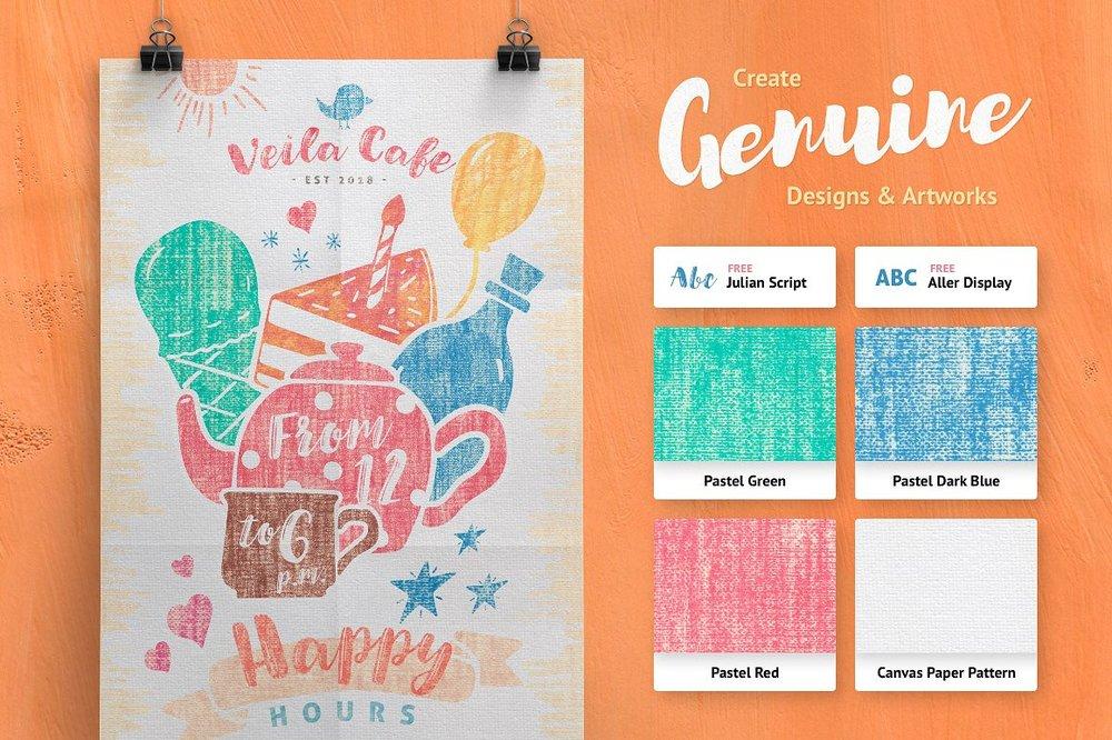 Artistic Studio: Pastel Toolkit