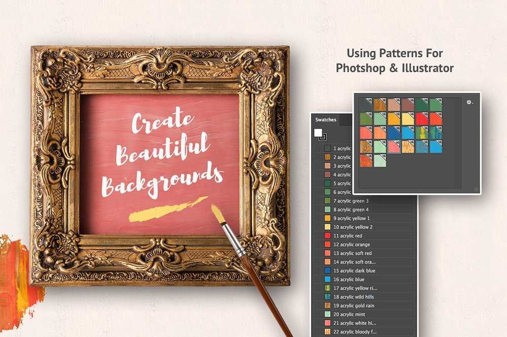 Artistic Studio: Acrylic Toolkit