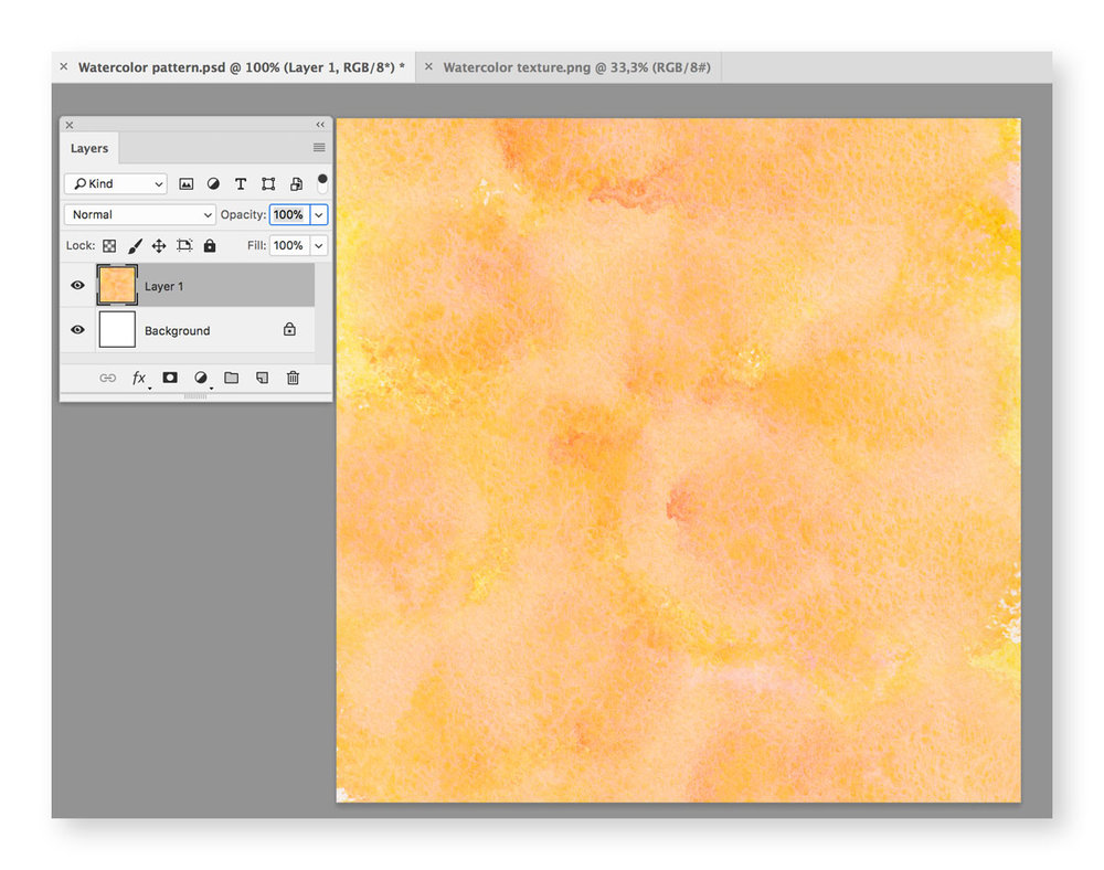How to Create a Seamless Watercolor Texture in Photoshop with Ease