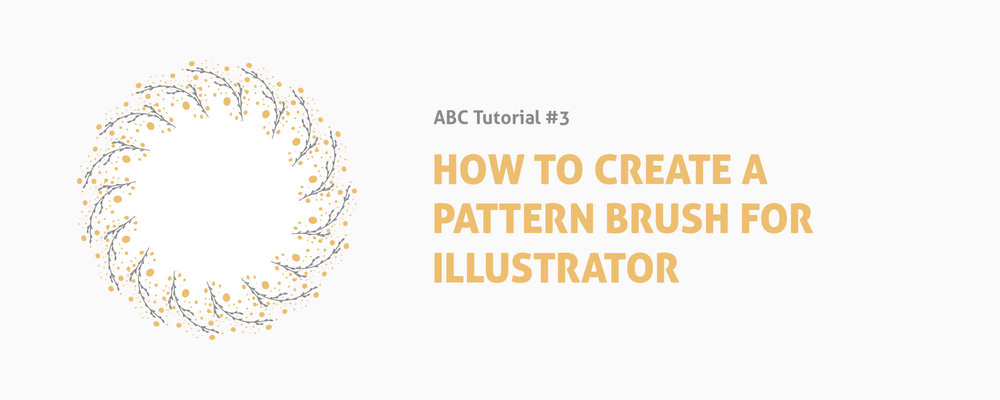 How to Create a Pattern Brush for Illustrator