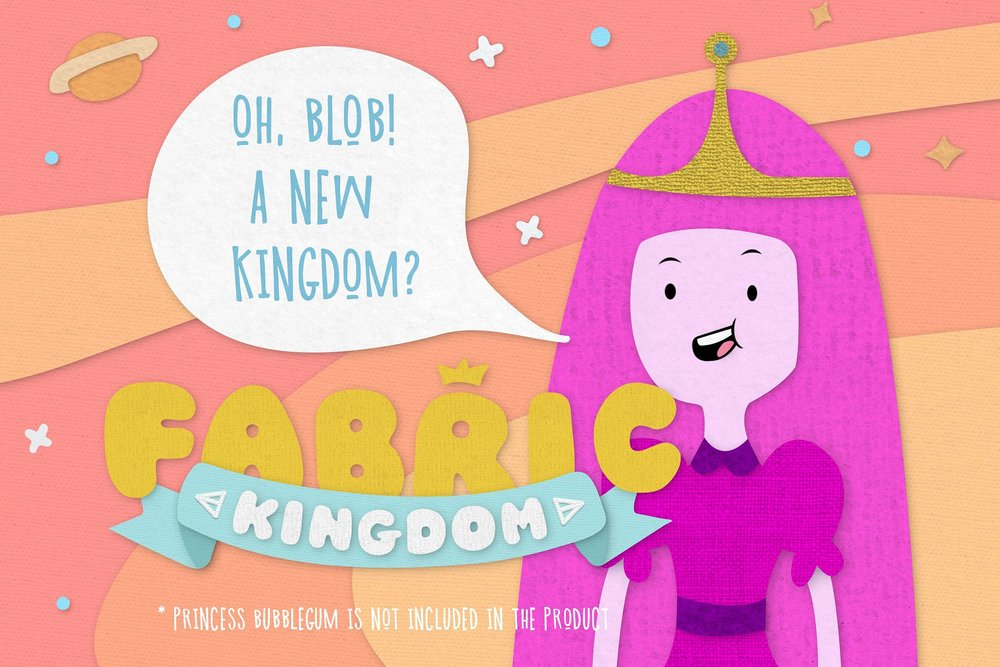 Copy of Fabric Kingdom for Photoshop