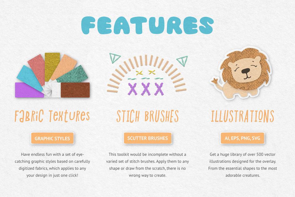 Fabric Kingdom for Illustrator