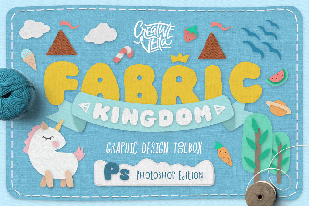 Fabric Kingdom for Photoshop