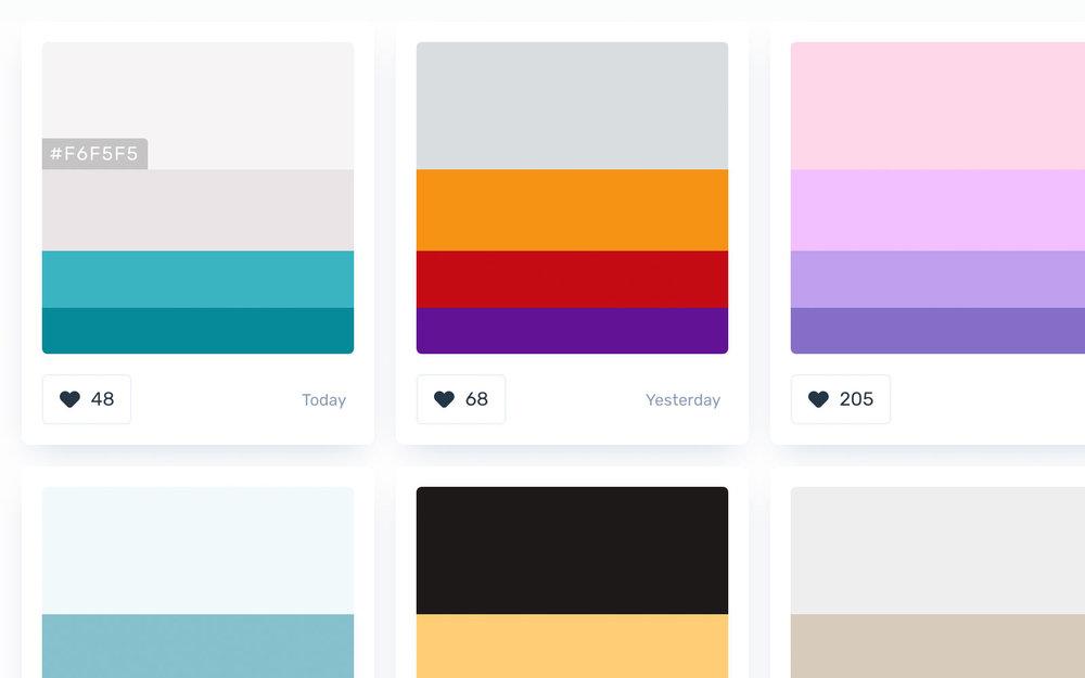 Color Hunt - Color Palettes for Designers and Artists