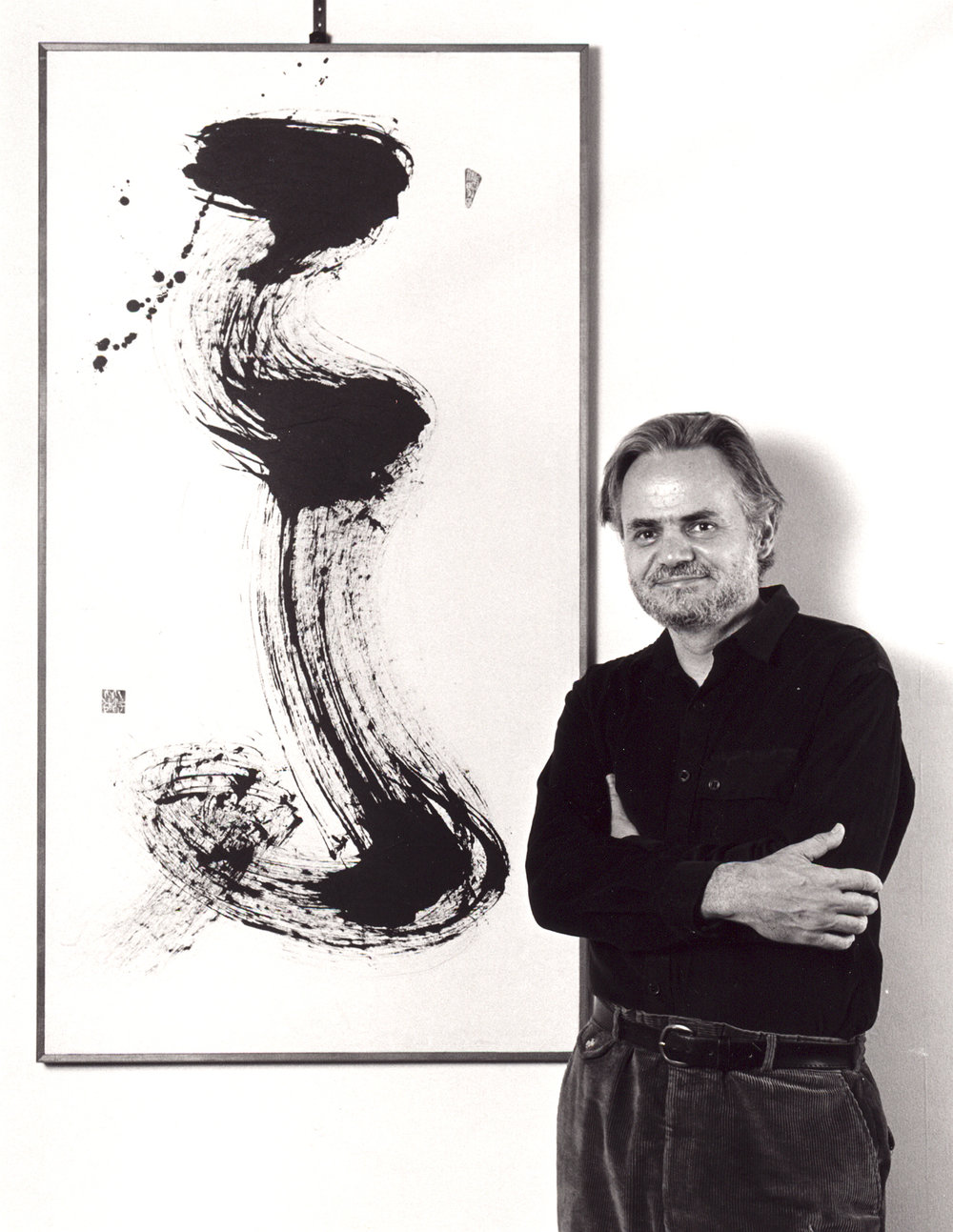 Stephen Addiss   Steve Addiss writes that he has studied calligraphy both historically and personally in New York, Kyoto and Taiwan for almost fifty years, but obviously has a long way to go—and  wants  this long way to go.