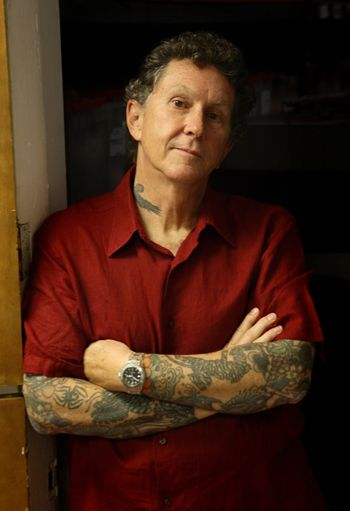 Don Ed Hardy   American tattoo artist raised in Southern California. Hardy is best known for his Japanese-influenced tattoo work and his apparel and accessories brand Ed Hardy.   https://www.edhardyoriginals.com/