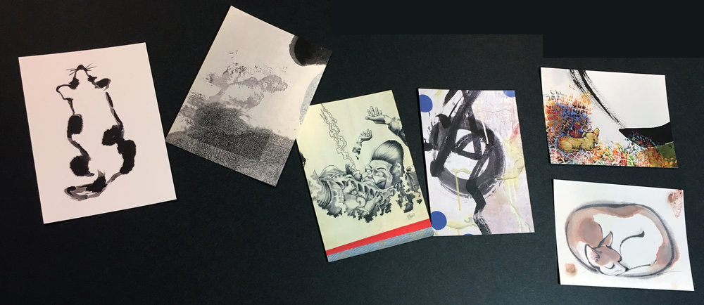 Postcards, DOG Series