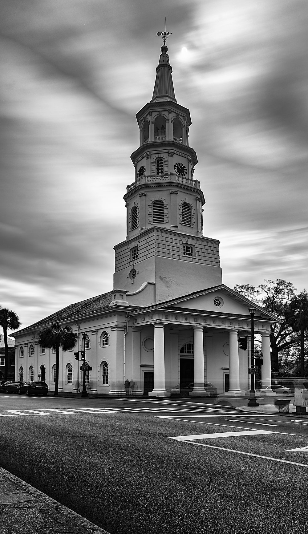 St. Michael's Church in downtown Charleston