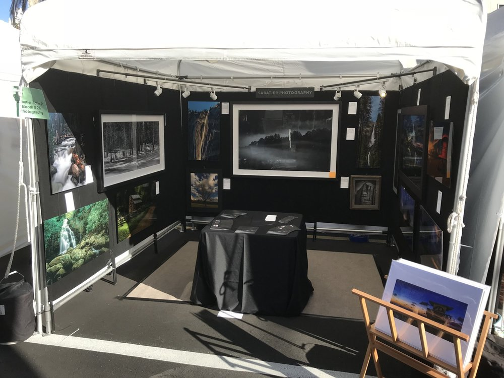 My booth all set up for the show