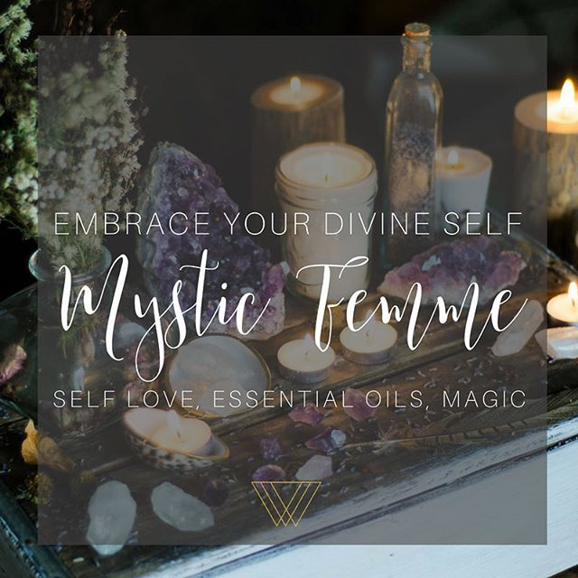 Mystic Femme is here! She is pure magic, intuition, luna love, essential oil goodness, and showing YOU how beautiful and divine you truly are. This a sacred space for women, healers, mamas, boss babes, and any soul who is looking for a sisterhood and guidance on this journey we're on - the human experience. . . We're launching so soon and I would love for you to be apart of it! As a special gift for joining the waitlist, I feel called to offer you an intuitive oracle reading and an essential oil and crystal recommendation for your message. All you have to do is join the waitlist! . . As we enter this beautiful Full Moon energy, let go of what's holding you back and open yourself up to new possibilities and adventures. . . Join the waitlist here    www.mystic-femme.com or click the link in Bio! 🔮💜