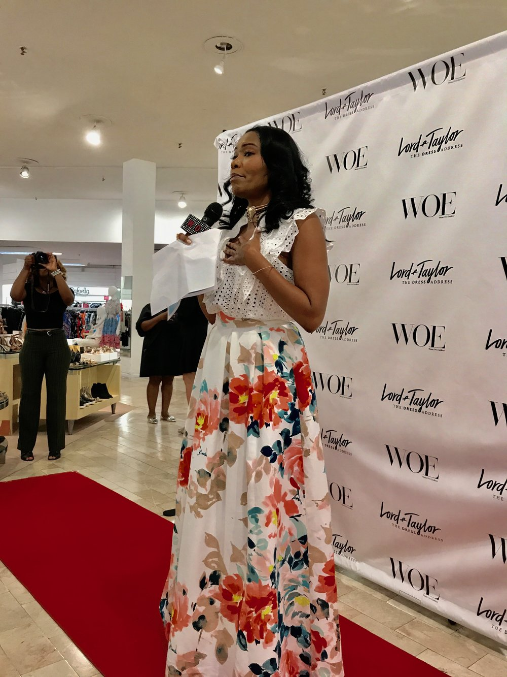 Lord & Taylor Fashion Show Host