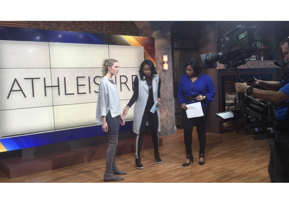 Fashion Trend Expert / TV Personality - Athleisure Takeover trend segment