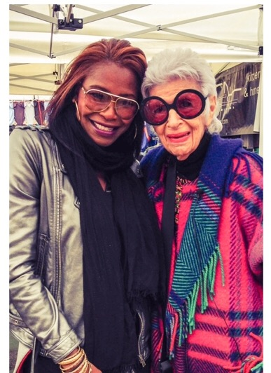 Just because.....ICON IRIS APFEL