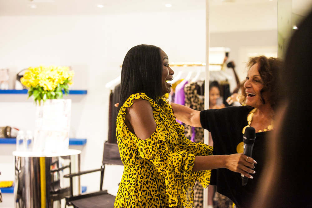 DIANE VON FURSTENBERG HOSTS MY NYC BOOK SIGNING