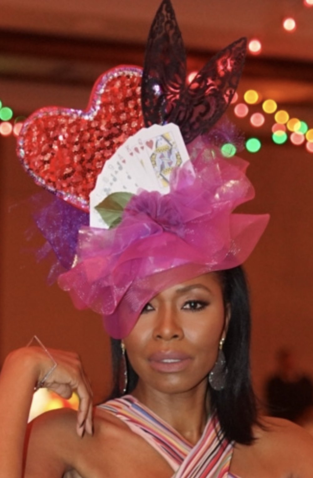 Tamiko w fascinator at FAF gala.jpg