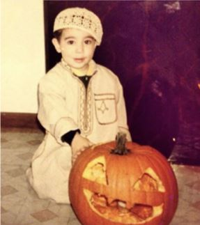 My favorite Halloween costume would be a more traditional outfit that I wore one year as a kid. It's my favorite because back then I always loved Halloween and fall. I didn't have a choice in this costume, my parents dressed me like this. It's hilarious to look back at and reminisce about old days.  – Andrew Bashi, 23, West Bloomfield