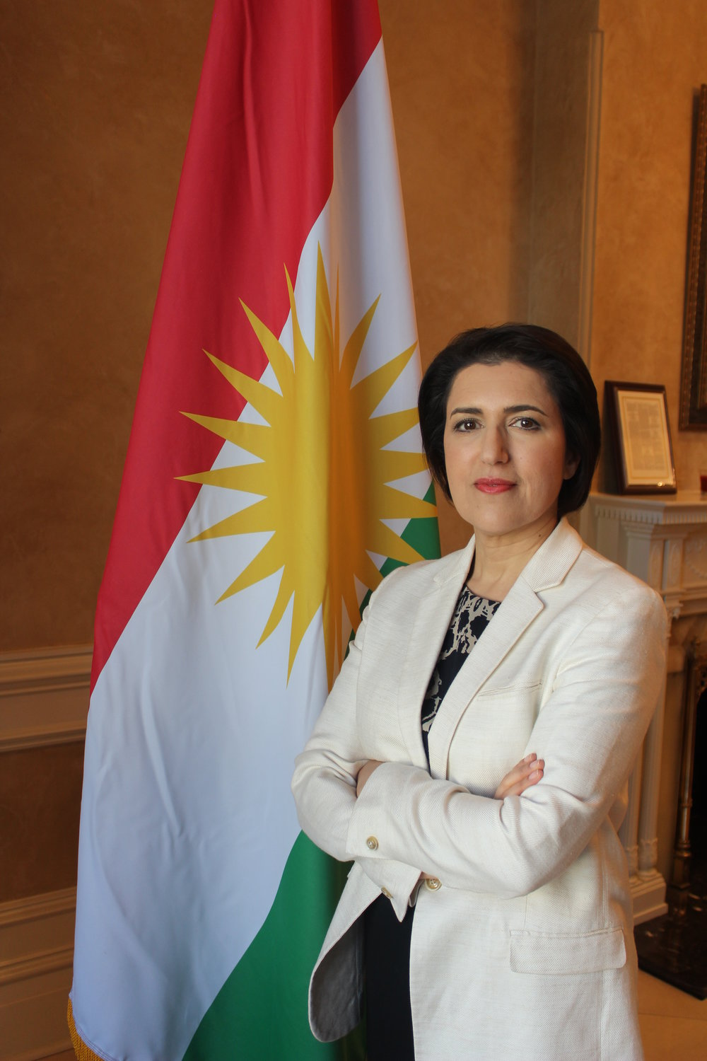 Bayan Sami Abdul Rahman, representative in the United States for the Kurdistan Regional Government.