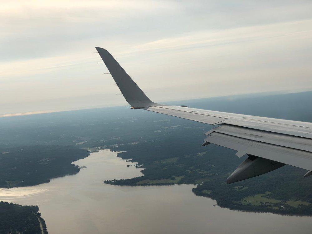 On approach to DCA. Vikkie/VikkieVentures