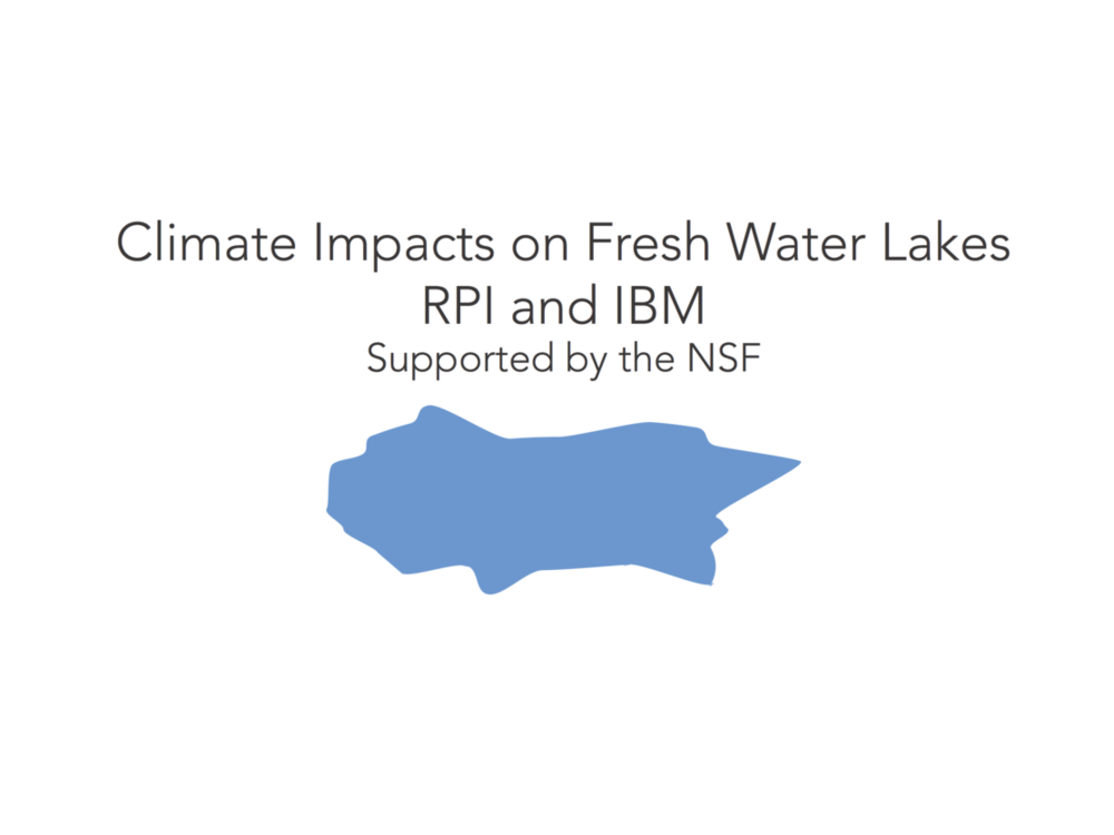 CLIMATE AND LAKES