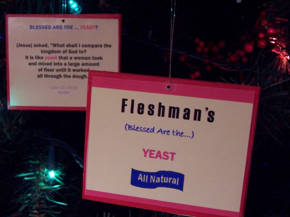 Glenn's 2012 Ornament (13th Annual): Blessed Are the…Yeast?