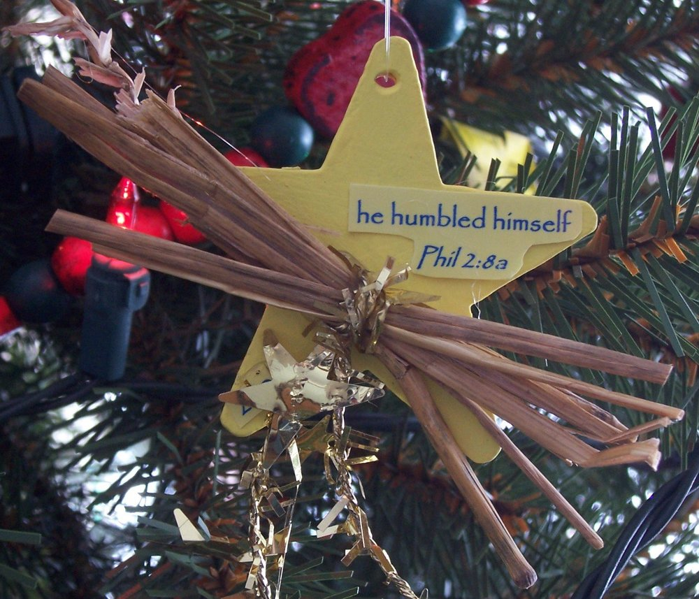 "207 ""He Humbled Himself"" Ornament"