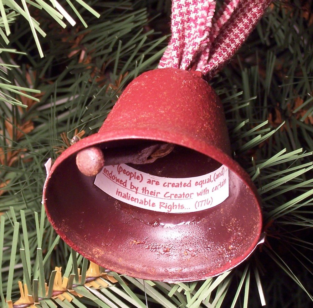 "2001 ""Liberty Bell"" Ornament"