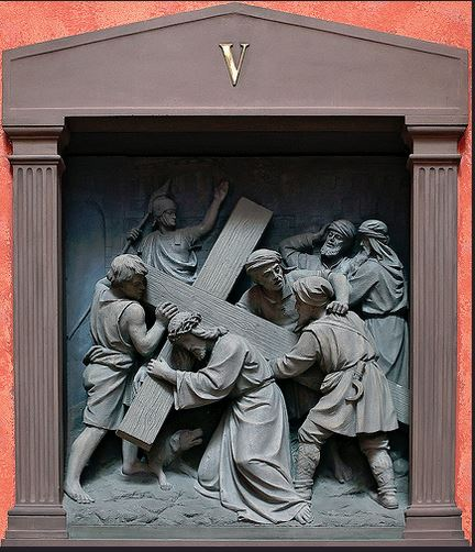 Station V of the Stations of the Cross