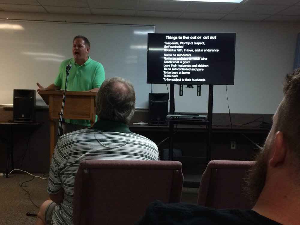 Pastor Kevin Harbin