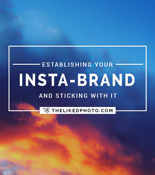 Establishing your Insta-brand on Instagram!- choosing a theme, style, and consistent editing. Includes a FREE Instagram Checklist