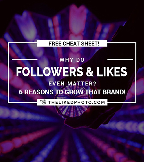 Why do followers and likes matter? Find out how to monetize your Instagram and brand - Includes a FREE monetization cheatsheet.