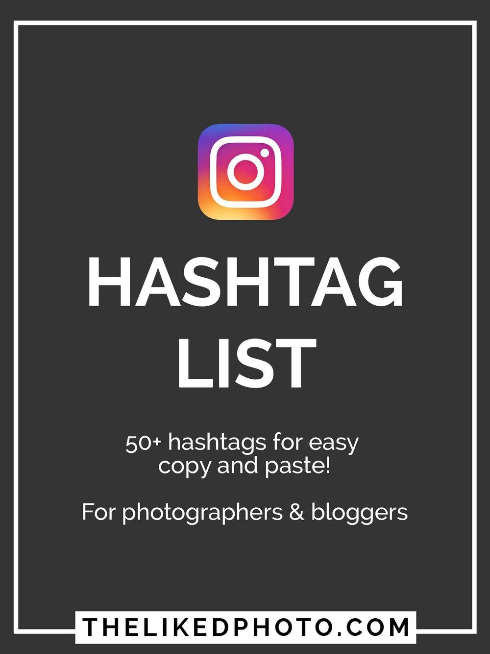 hashtaglist