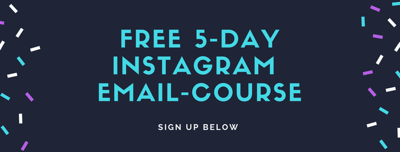 FREE 5-day Instagram Email Course