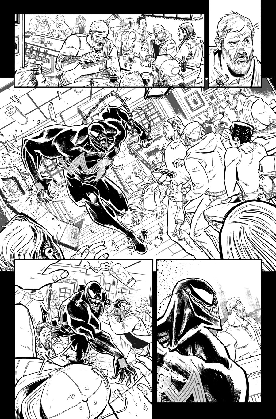 Venom Annual #1  Writer:  Jeff Loveness  Artist:  Tigh Walker   MARVEL,  2018
