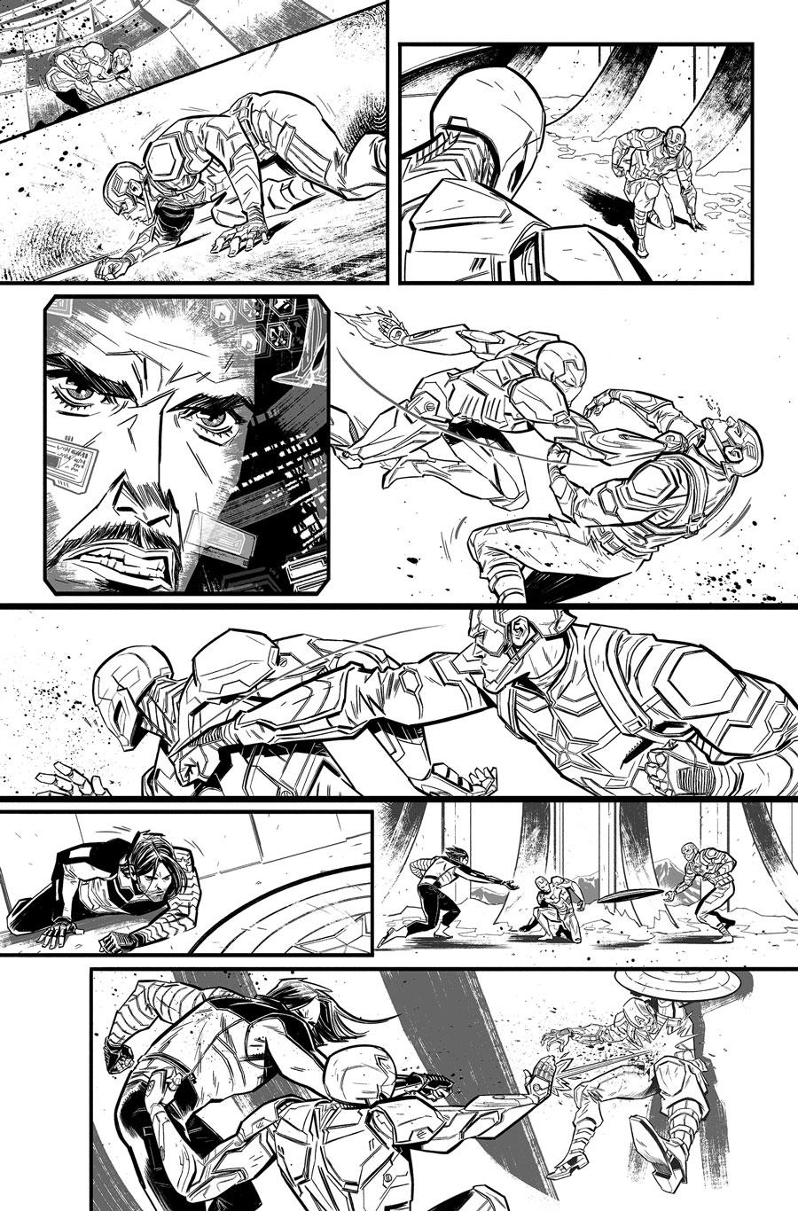 Avengers Infinity War Prelude #1  Writer:  Will Corona Pilgrim  Artist:  Tigh Walker   MARVEL,  2017