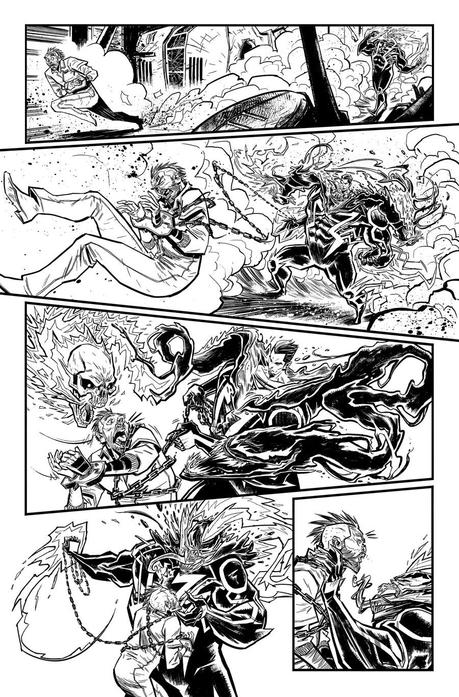 Edge of Venomverse #3  Writer:  Simon Spurrier  Artist:  Tigh Walker   MARVEL,  2017