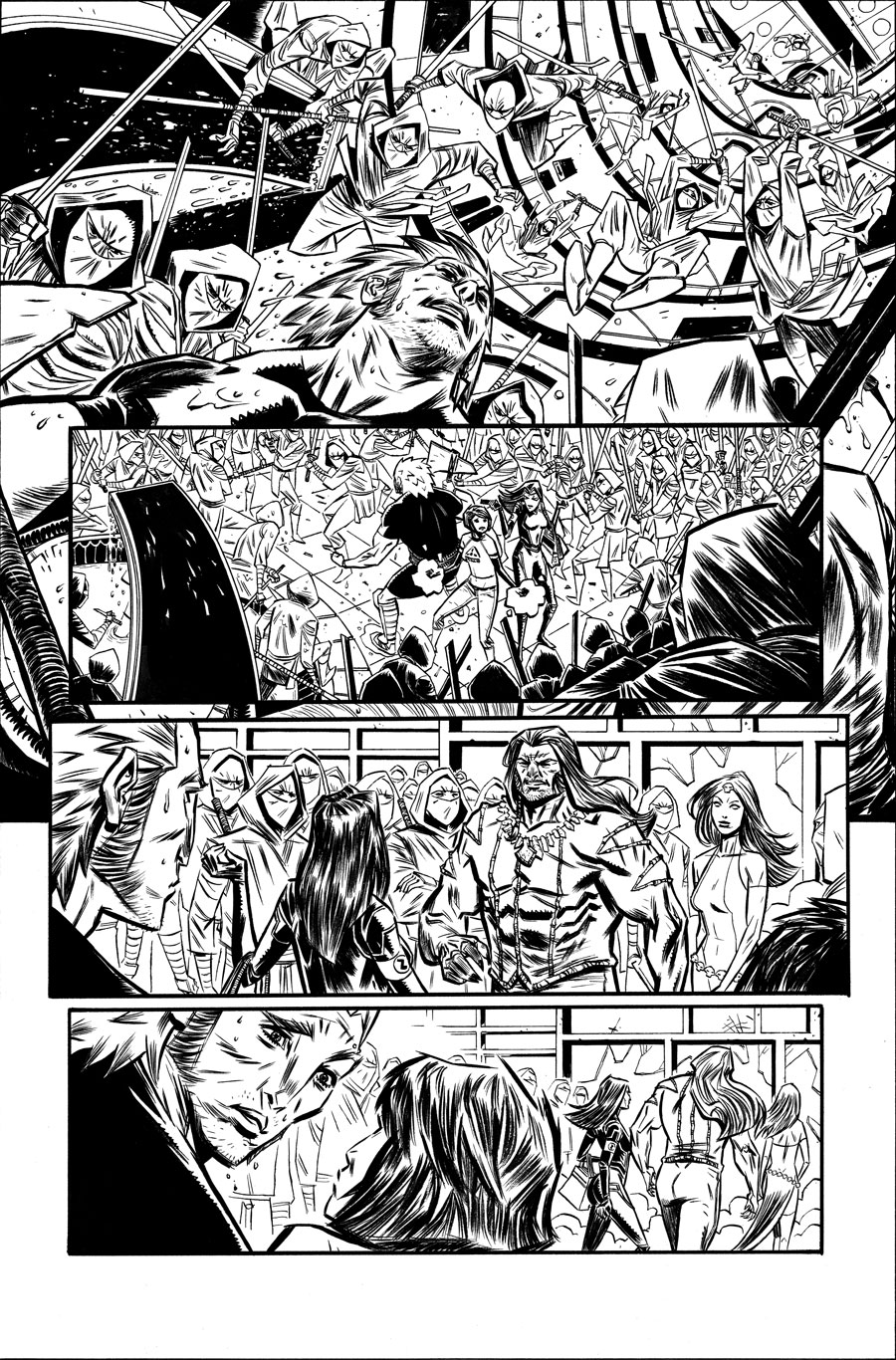Avengers Undercover #8  Writer:  Dennis Hopeless  Artist:  Tigh Walker   MARVEL,  2014